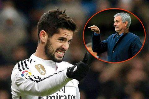 "Mourinho muốn ""giải thoát"" Isco khỏi Real Madrid?"