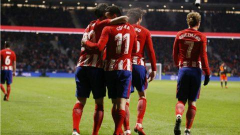 Thắng tối thiểu Valencia, Atletico xây chắc ngôi nhì