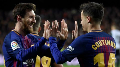 5 điểm nhấn Valencia 0-2 Barca: Mina ra mắt; Coutinho mở hàng