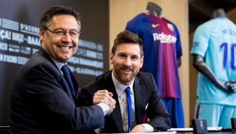 Chủ tịch Barca tiết lộ tương lai Messi và kế hoạch CN mùa hè