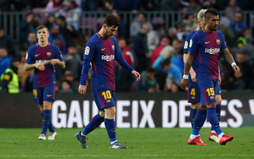 Messi tịt ngòi, Barca trận thứ hai liên tiếp phải chia điểm