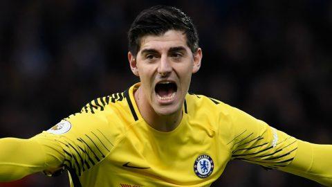 Hồn đã ở Madrid, Courtois khiến Chelsea lao đao