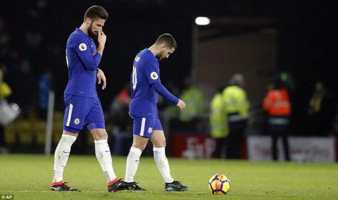 Chelsea đang tái hiện tấn bi kịch sau 22 năm