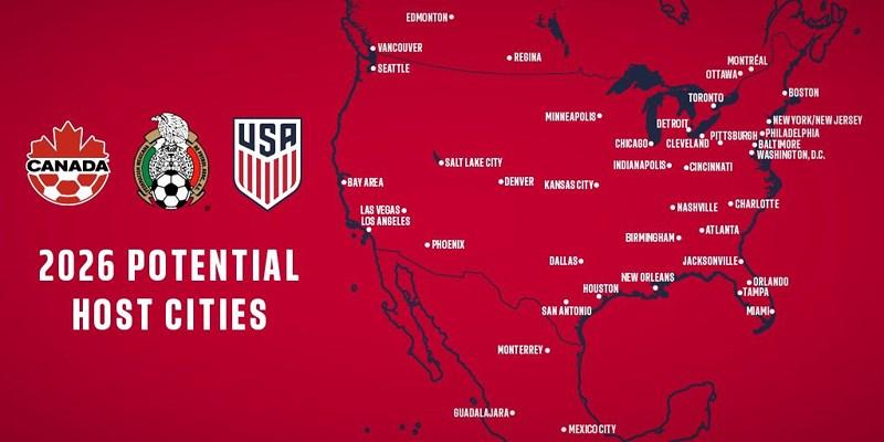 """5 tỷ USD nếu World Cup thuộc về """"Liên minh Bắc Mỹ"""""""