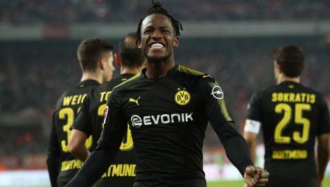 Batshuayi lập cú đúp ngày ra mắt, Dortmund thắng nghẹt thở Cologne