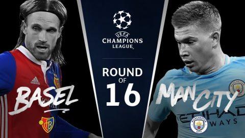 Nhận định Basel vs Manchester City, 2h45 ngày 14/02: Trổ tài trời Âu