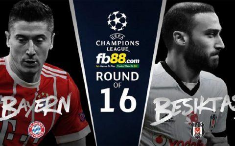 Nhận định Bayern Munich vs Besiktas, 2h45 ngày 21/02: Tận dụng vận may