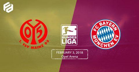 Nhận định Mainz vs Bayern Munich, 21h30 ngày 3/2: Khó thắng cách biệt