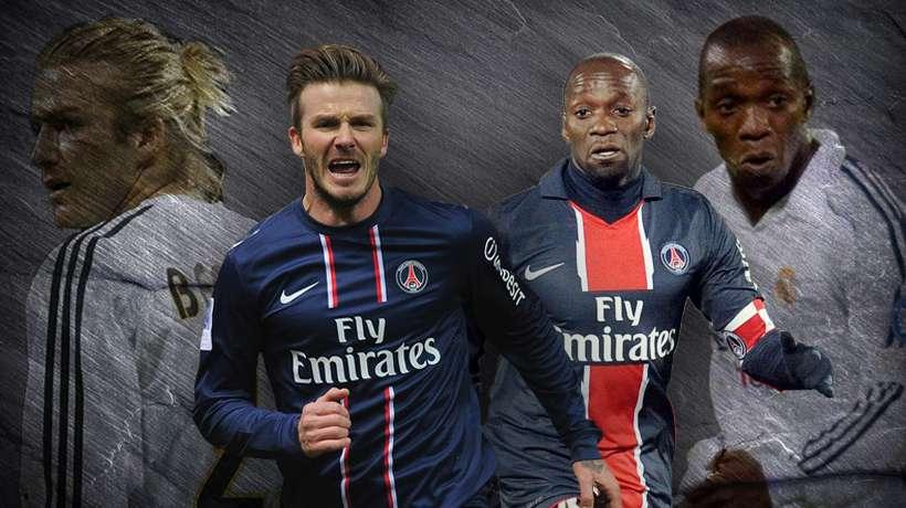 Beckham và những cầu thủ từng thi đấu cho cả PSG lẫn Real