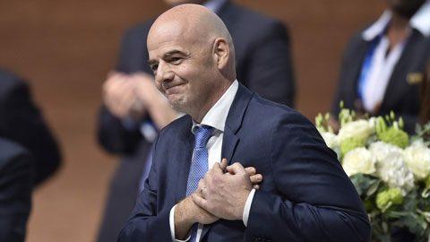 HÔM NAY: chủ tịch FIFA Gianni Infantino sẽ tới Hà Nội