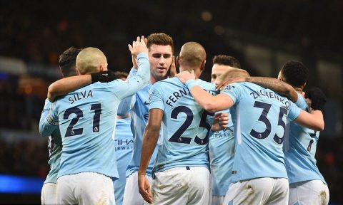 Laporte ra mắt, Man City thắng tưng bừng West Brom