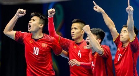 Futsal Việt Nam lọt vào nhóm hạt giống 2, tràn trề cơ hội dự World Cup 2020