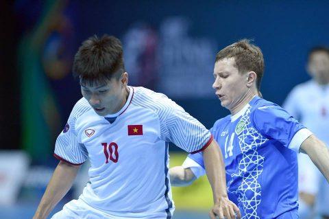 Để thua Uzbekistan, ĐT futsal Việt Nam dừng chân ở tứ kết