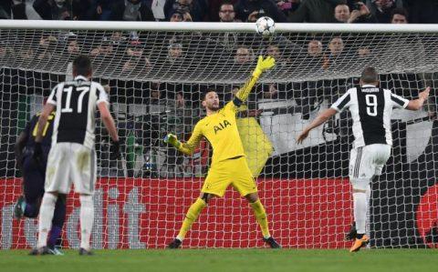 Higuain đá hỏng phạt đền, Juventus bị Tottenham níu chân