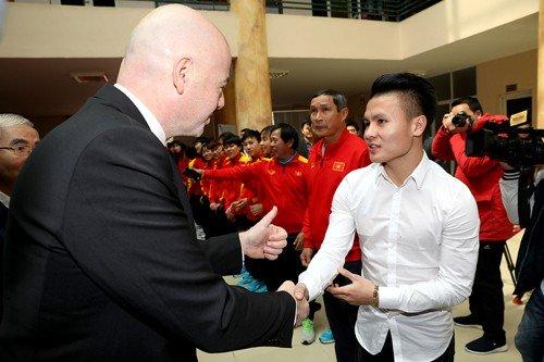 """Việt Nam cùng FIFA cam kết xây dựng nền bóng đá """"sạch"""""""
