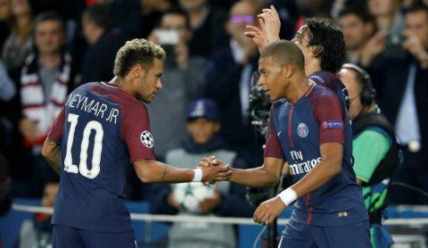 """Sau Cavani, đến lượt Mbappe có vấn đề với """"báu vật"""" Neymar?"""