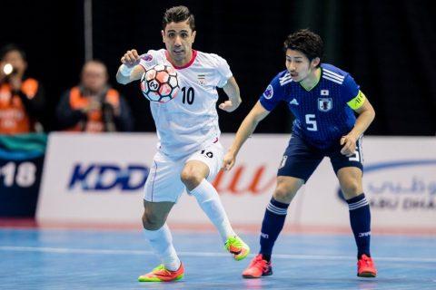 Thắng đậm Nhật Bản, Iran vô địch futsal châu Á