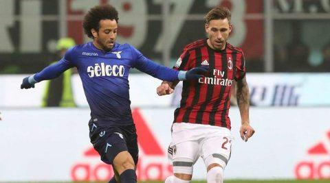 Hòa không bàn thắng, cơ hội vẫn chia đều cho Milan và Lazio