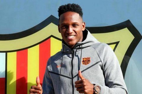 Những lý do Yerry Mina chưa thể ra mắt tại Barcelona