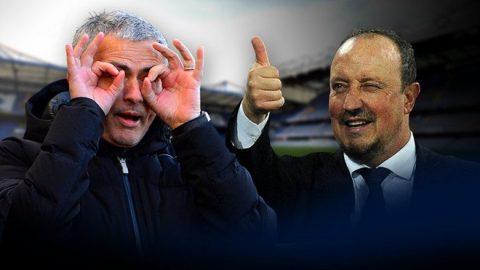 Benitez khắc tinh của Mourinho