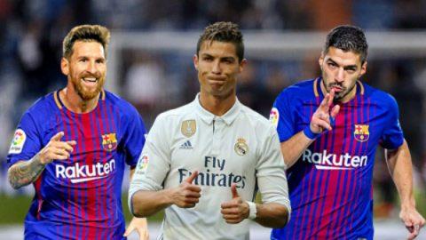 Cuộc đua Pichichi: Ronaldo và Suarez đe dọa Messi