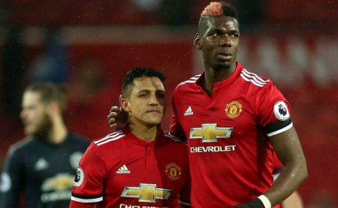Đâu là lý do khiến Pogba nhường Sanchez đá penalty?