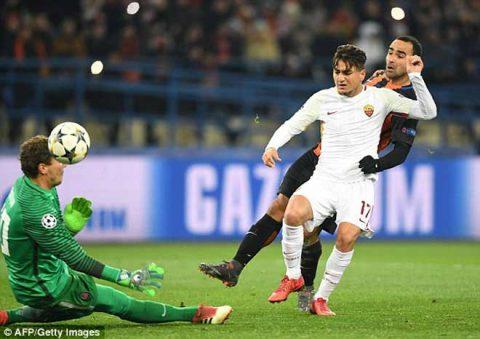 Shakhtar ngược dòng đánh bại Roma trên sân nhà