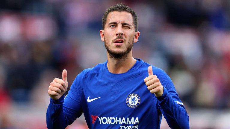 Hazard đóng góp 58% số bàn cho Chelsea trong năm 2018