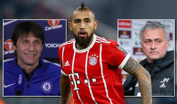 Arturo Vidal lên tiếng về tin đồn chuyển sang Man United, Chelsea