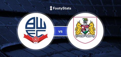 Nhận định Bolton vs Bristol City, 3h00 ngày 03/02: Thoát khỏi nguy hiểm