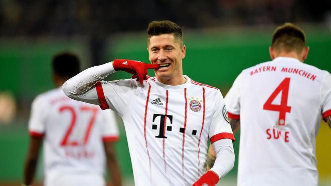 Dễ dàng nghiền nát nhược tiểu, Bayern hùng dũng tiến vào bán kết