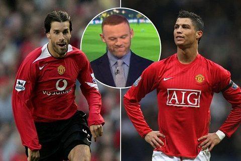 """Rooney tiết lộ """"con Quỷ"""" ghi 150 bàn bị Ronaldo ép phải rời M.U"""