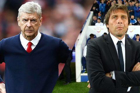 """Arsenal nên thay thế Wenger bằng Conte"""