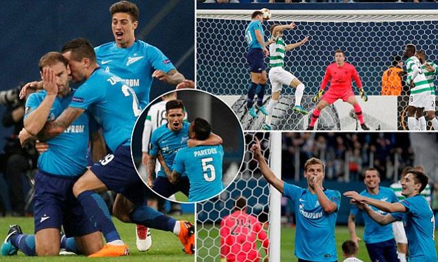 Lượt về vòng 1/16 Europa League: Dortmund vượt ải, Arsenal thua bạc nhược