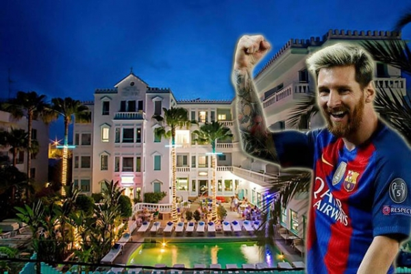 Messi's Hotel