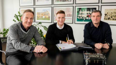 CHÍNH THỨC: Marco Reus gia hạn hợp đồng với Dortmund thêm 5 năm