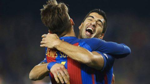 Barcelona mất Suarez trước thềm đại chiến với Chelsea