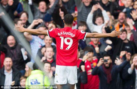 Chấm điểm M.U 2-1 Liverpool: Rashford sáng bừng Old Trafford