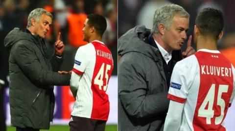 Con trai Kluivert tiết lộ nội dung cuộc nói chuyện với Mourinho