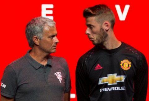 De Gea là chìa khóa để níu giữ chiếc ghế của Mourinho