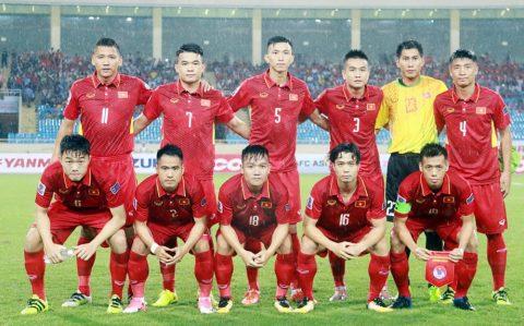 ĐT Việt Nam cùng Thái Lan là hạt giống số 1 AFF Cup 2018