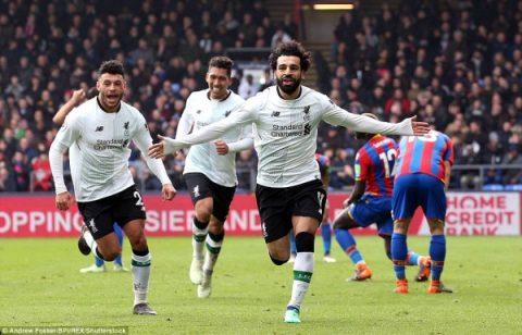 Palace 1-2 Liverpool: 'Vua' Ai Cập tiếp tục khiến đối thủ ôm hận