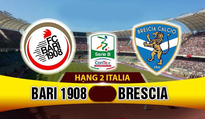 Nhận định Bari vs Brescia, 02h30 ngày 25/03 (Vòng 31 – Hạng 2 Italia): Top 4 vẫy gọi