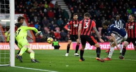 Bournemouth – West Brom: Vỡ òa tuyệt phẩm phút 89