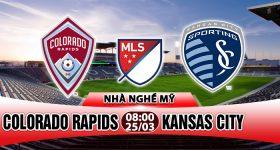 Nhận định Colorado Rapids vs Kansas City, 08h00 ngày 25/03: Tràn đầy tự tin