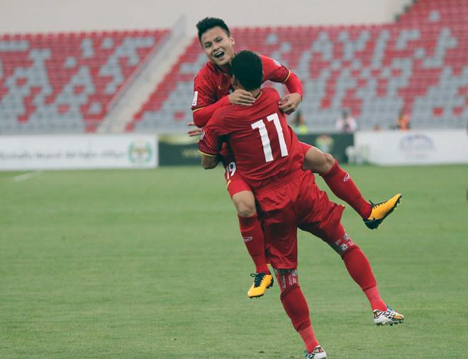 ĐT Việt Nam có thể rơi vào bảng tử thần tại VCK Asian Cup 2019
