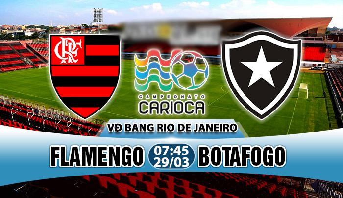 Nhận định Flamengo vs Botafogo, 07h45 ngày 29/03: Đẳng cấp nhà vô địch