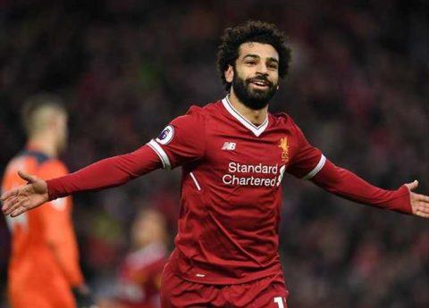 Giá trị của Salah trên thị trường chuyển nhượng đang tăng phi mã
