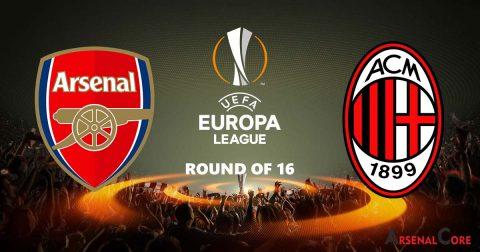 Nhận định Arsenal vs AC Milan 03h05, 16/03: Kết buồn cho thành Milan
