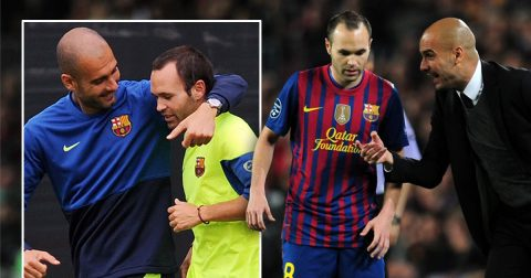 Pep muốn mời Iniesta về Man City dưỡng già